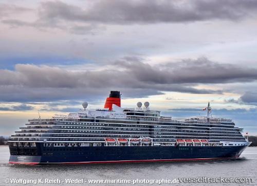 Queen Victoria  Type Of Ship Passenger Ship  Callsign