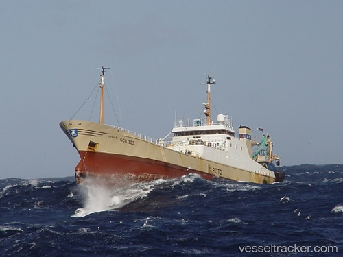 Fishing Boat Dzintarjura IMO 8107050 by WILLEM048