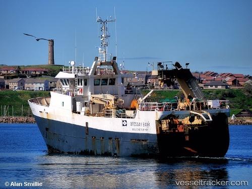 Bressay bank tall ship