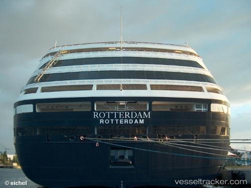 Passagierschiff MS Rotterdam IMO 9122552 by sichel