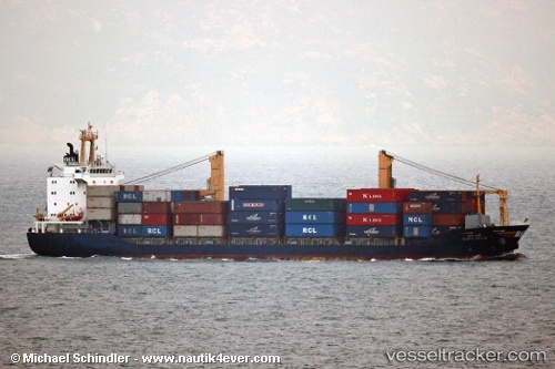 Cargo Ship Supa Bhum IMO 9158757 by MSC Michi