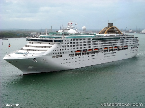 Oceana  Type Of Ship Passenger Ship  Callsign ZCDN9