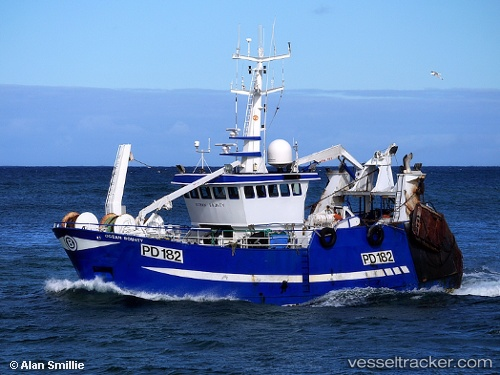 Ocean bounty pd182 type of ship fishing boat callsign for Fishing boat types