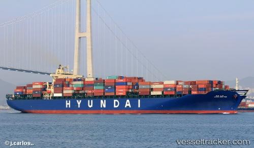 Hyundai New York Type Of Ship Cargo Ship Callsign
