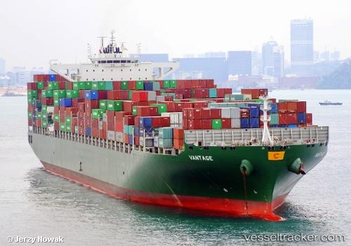 Cargo Ship Vantage IMO 9628192 by jojek