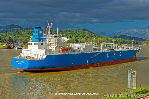 Tanker Spread Eagle IMO 9699995 by folofo