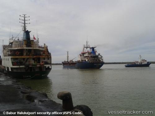 Cargo Ship Cenk Turkmen IMO 8202977 by rigel74