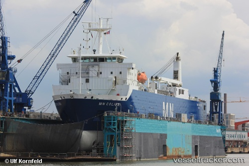Frachtschiff Mn Colibri IMO 9207390 by Ulfship