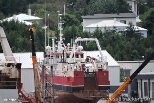 Fischfangboot Nokkvi IMO 8021737 by BerndU