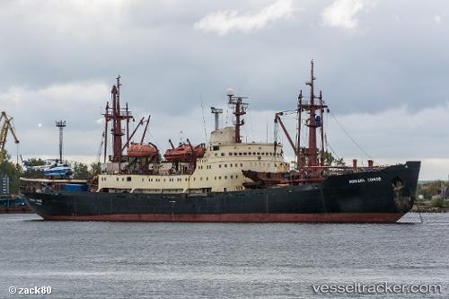 Cargo Ship Mikhail Somov IMO 7518202 by zack80