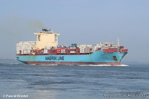 Frachtschiff Maersk Lima IMO 9526875 by marchebio