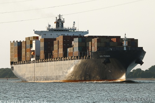Frachtschiff E.r.pusan IMO 9211169 by Sosa