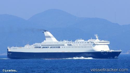 Passagierschiff Hakuou IMO 9116266 by kpitan69