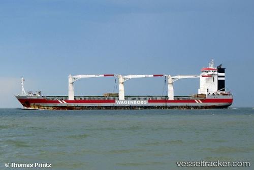 Frachtschiff Esl Australia IMO 9365661 by YANG-MING-Fan