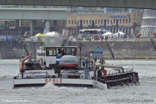 Frachtschiff Saale by Noorderlicht