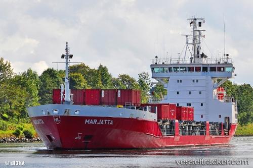Frachtschiff Marjatta IMO 9126247 by dl3lat