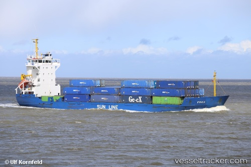 Frachtschiff Frej IMO 9101156 by Ulfship