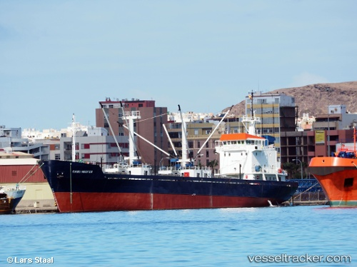 Gabu Reefer Type of ship Cargo Ship Callsign D6FJ2