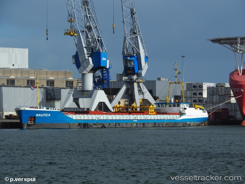Frachtschiff Nautica IMO 9032458 by Piet-Verspui