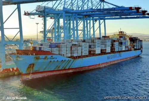 Cargo Ship Maersk Atlanta IMO 9348649 by jojek