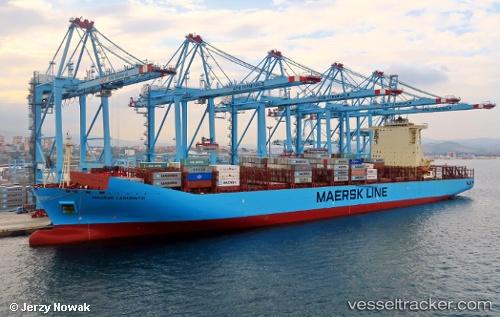 Cargo Ship Maersk Laberinto IMO 9526978 by jojek
