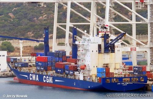 Cargo Ship CMA CGM Aristote IMO 9360154 by jojek