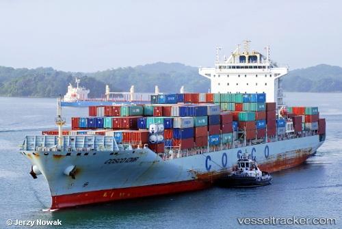 Cargo Ship COSCO Izmir IMO 9484508 by jojek