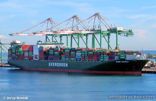 Cargo Ship Ever Lovely IMO 9629110 by jojek