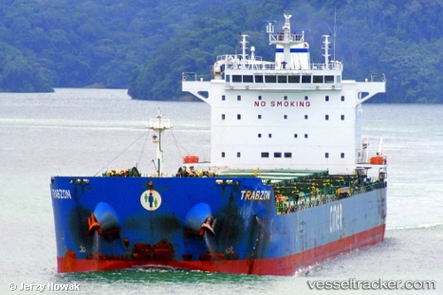 Cargo Ship Trabzon IMO 9595046 by jojek