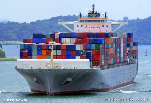 Cargo Ship COSCO Malaysia IMO 9448774 by jojek