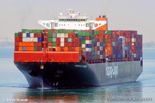 Cargo Ship Shanghai Express IMO 9501368 by jojek