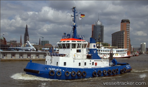 Schlepper Fairplay VI IMO 9032185 by Moin.moin