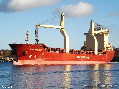 Cargo Ship Augusta Unity IMO 9190080 by Ufo23-1