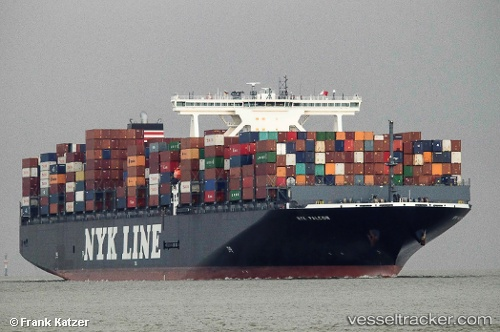 Cargo Ship NYK Falcon IMO 9741425 by Becks93