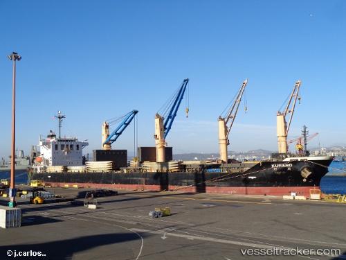 Frachtschiff Kumano IMO 9333761 by kpitan69