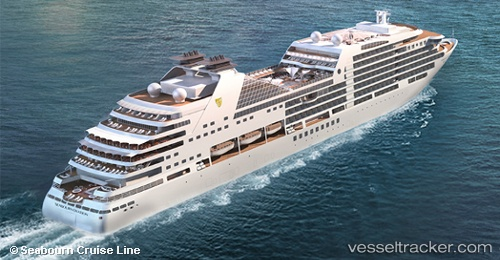 Passenger ship Seabourn Ovation IMO 9764958 by arnekiel