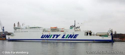 Passagierschiff Wolin IMO 8420842 by Sassnitzer