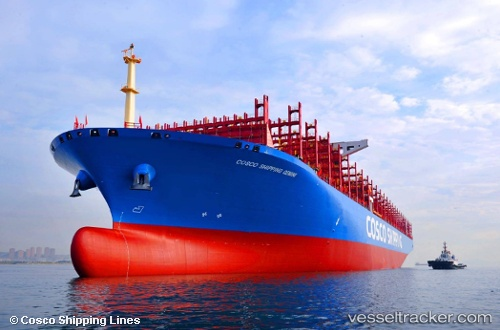 Cargo Ship COSCO Gemini IMO 9783526 by arnekiel