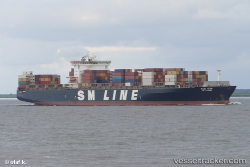 Frachtschiff Sm Tacoma IMO 9189366 by schiff