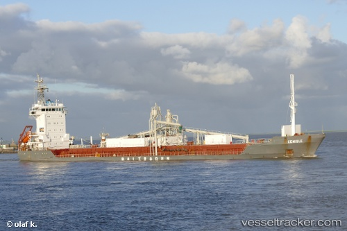 Frachtschiff Cemisle IMO 9213911 by schiff