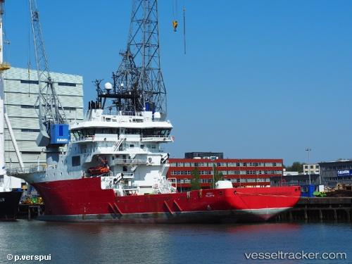 Frachtschiff Alucia 2 IMO 9533373 by Piet-Verspui