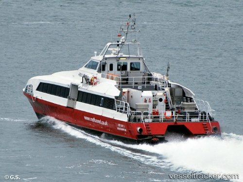 Schnellboot Red Jet 3 IMO 9182758 by Opa-Oeli