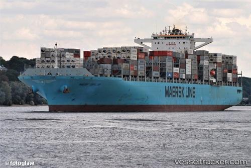 Frachtschiff Maersk Gibraltar IMO 9739692 by sehmann