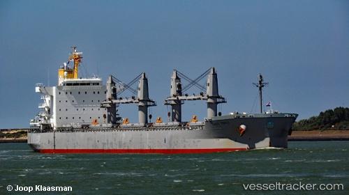 Frachtschiff Sand Topic IMO 9737084 by Joop.Klaasman