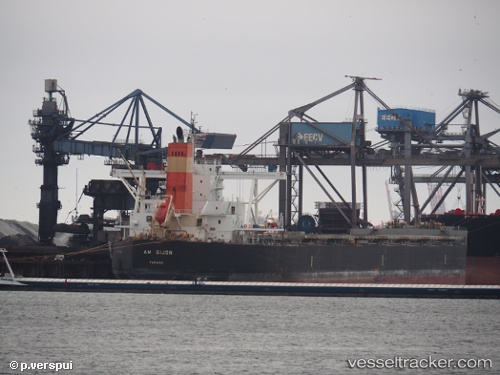 Frachtschiff Am Gijon IMO 9454151 by Piet-Verspui