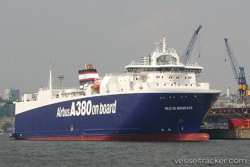 Ville de bordeaux type of ship cargo ship callsign for Bordeaux piscine
