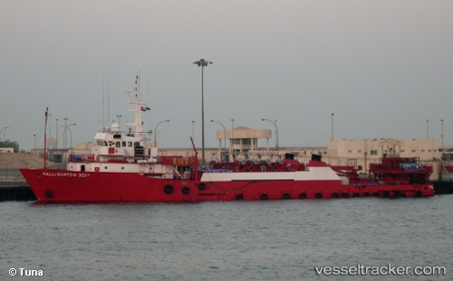Other Ship Halliburton-301 IMO 8016263 by TUNA