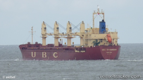 Cargo Ship UBC Stavanger IMO 9287340 by sichel