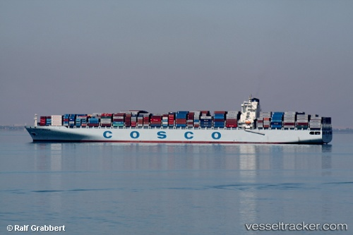 Cargo Ship Hanjin Casablanca IMO 9345439 by grabbi
