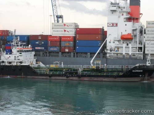 Capraia Type of ship Tankship Callsign IBUV vesseltrackercom